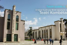 Vazhdojnë diskutimet e artistëve për Teatrin, sot në 18:00 takimi i radhës