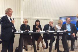 Një debat sureal me Fatmir Xhafajn dhe Etilda Gjonajn në Hagë