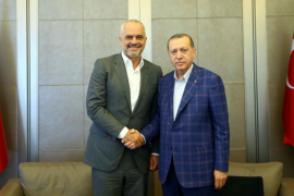 I harruar nga BE, Rama kthehet tek Erdogan