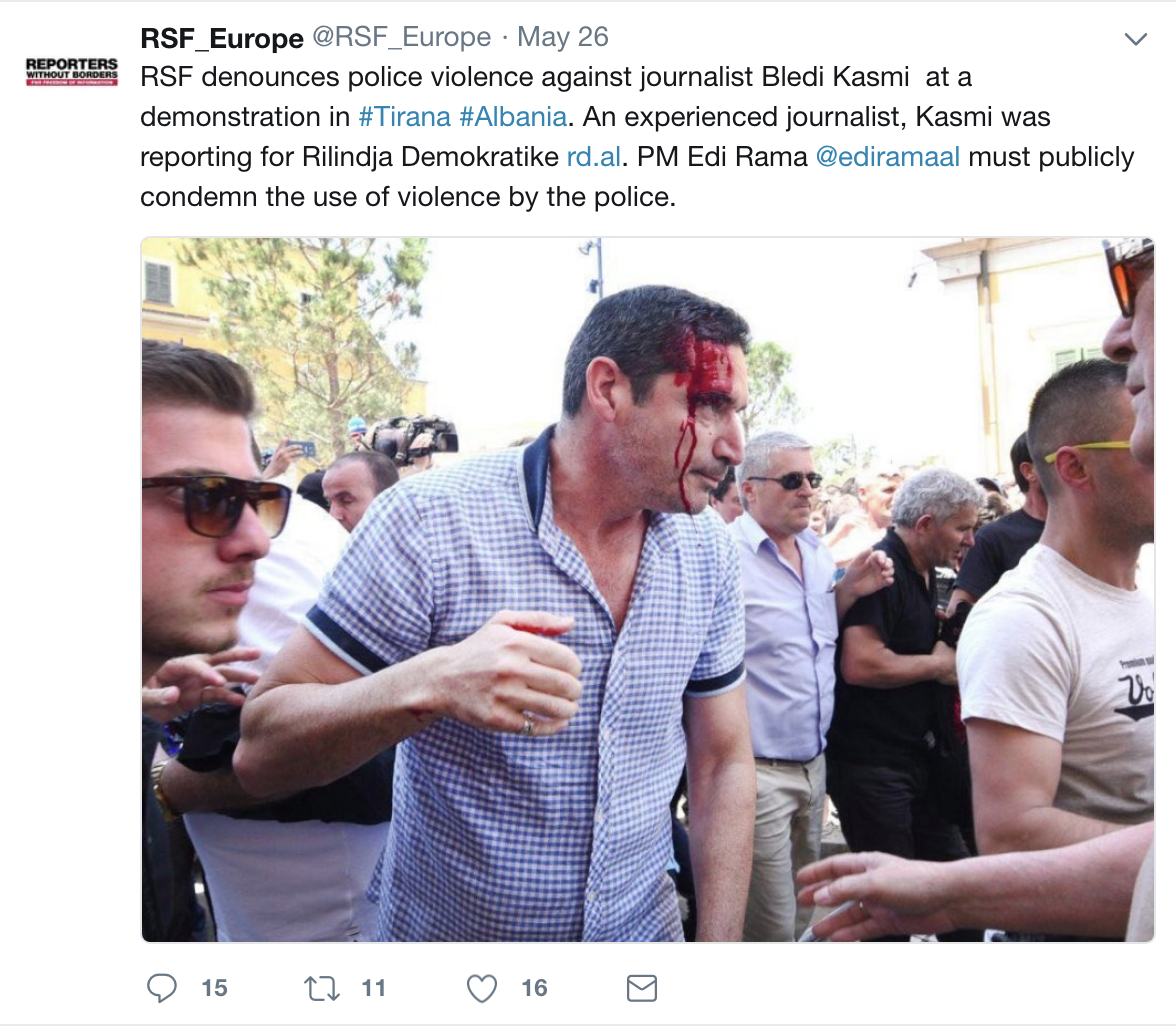 Reporterët pa kufij: 80 gazetarë u vranë dhe 348 u burgosën gjatë 2018-ës