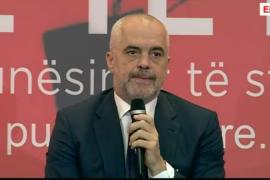 """Kryeministri Rama: Nga """"shqiptarët dembelë duan punë në shtet"""" në """"hajde punoni në shtet"""""""