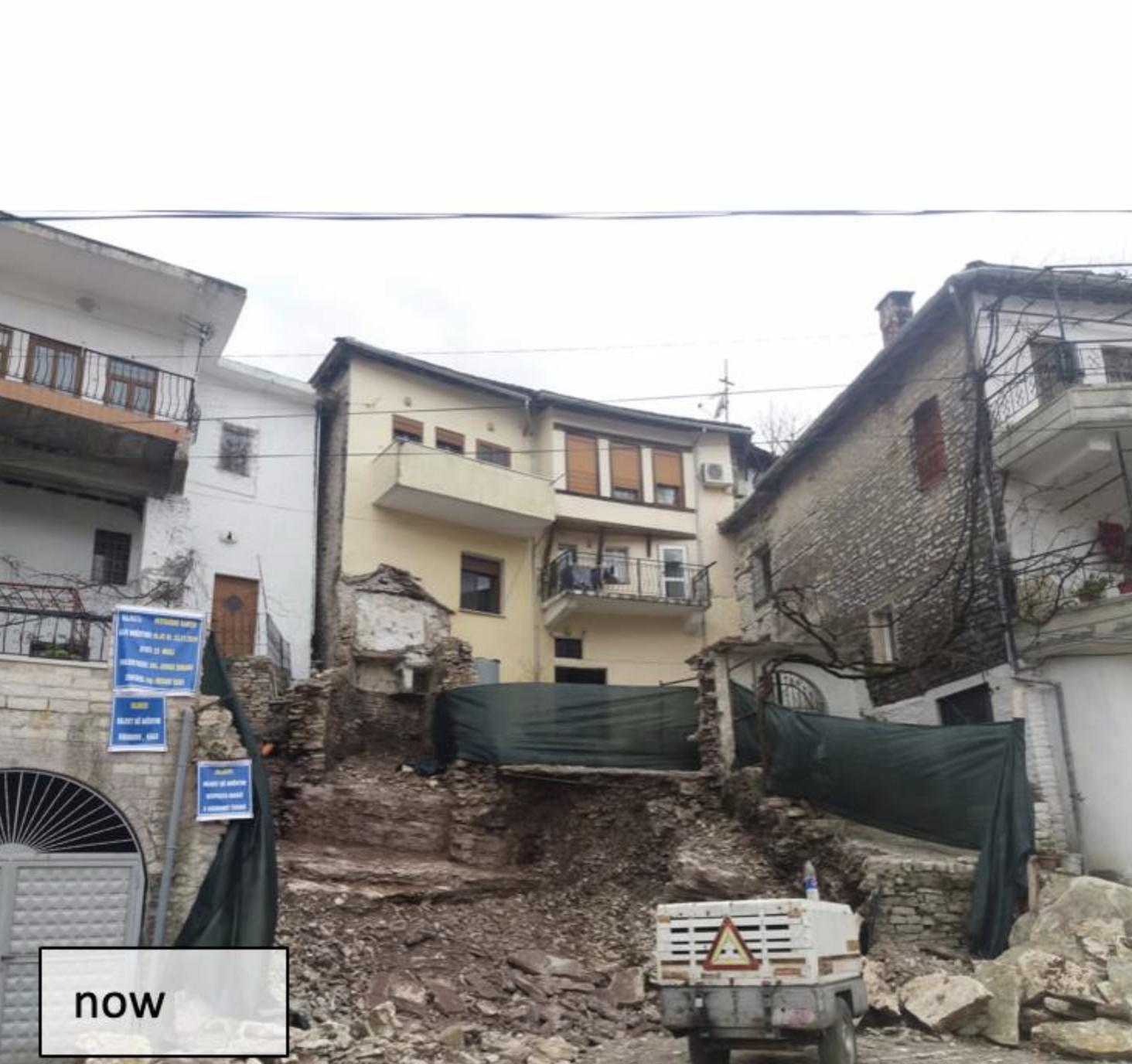 Trashëgimia Kulturore pa Kufij: Shkatërrohet një tjetër monument kulture në Gjirokastër