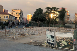 """""""Stacioni i ri autobusi"""" në qendër si arnim i projektit të sheshit Skënderbej"""