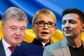 Zgjedhjet presidenciale në Ukrainë, një komedian i pari në sondazhe