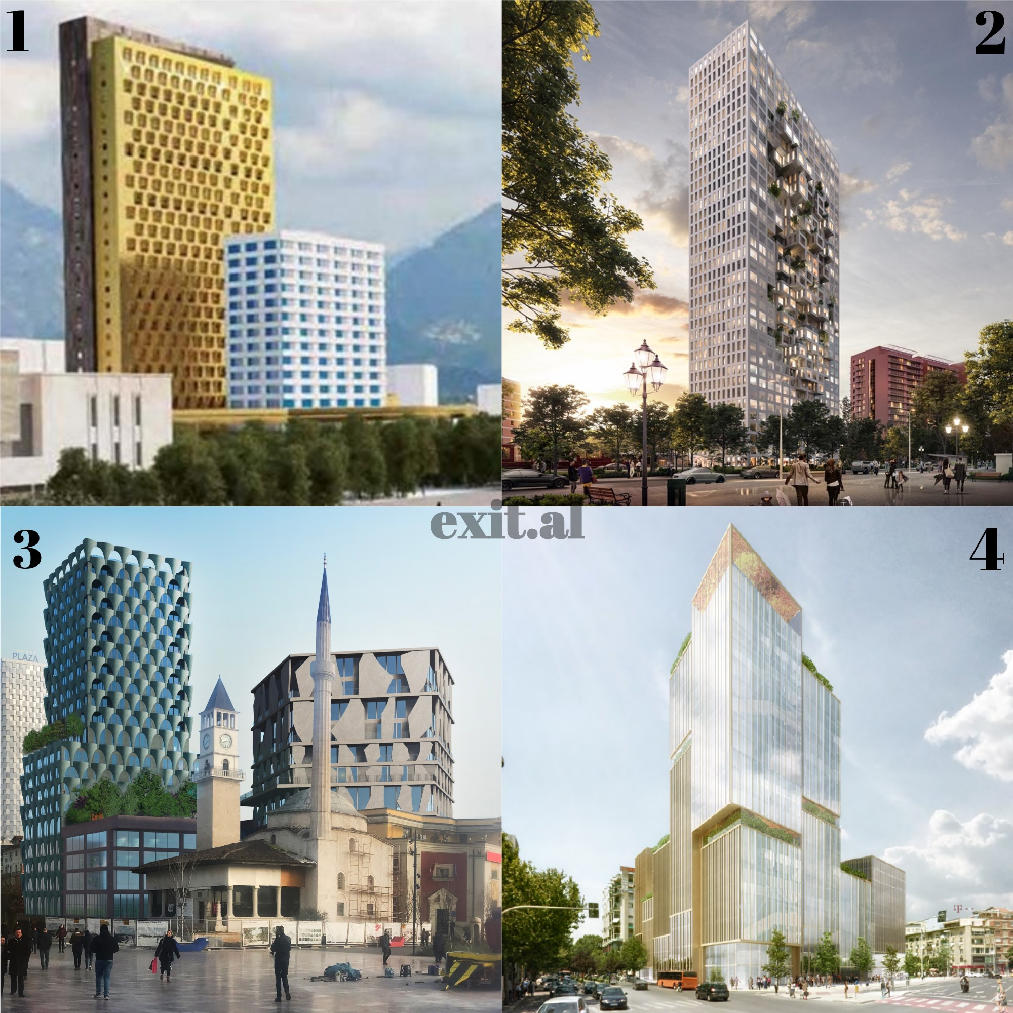 Qyteti i betonit — Si do ndryshojë Muzeu Kombëtar, Pallati i Kulturës dhe qendra e Tiranës