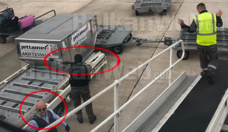 Grabitja në Rinas — Policia arreston një tjetër bashkëpunëtor