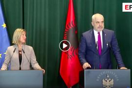 Mogherini: Qytetarëve të mos i hiqet mundësia për të marrë pjesë në zgjedhjet vendore