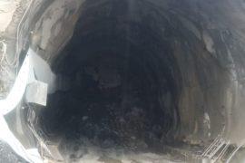 Shembet tuneli i sapo-ndërtuar i Rrugës së Arbrit