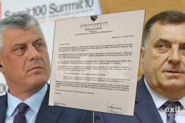 Bosnjë e Hercegovina: Ftesa për Thaçin nuk është njohje për Kosovën
