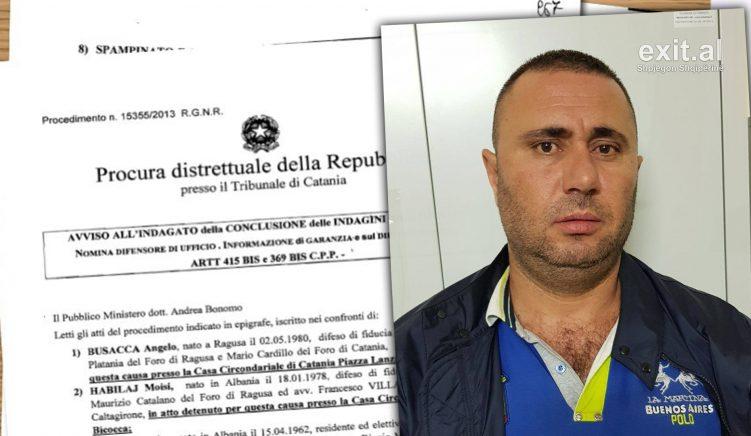Gjykata e Katanias lë në arrest shtëpie Moisi Habilajn