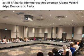 Forumi i Grave të PPE-së i shqetësuar për arrestimin politik të Dhurata Çupit e Denisa Vatës