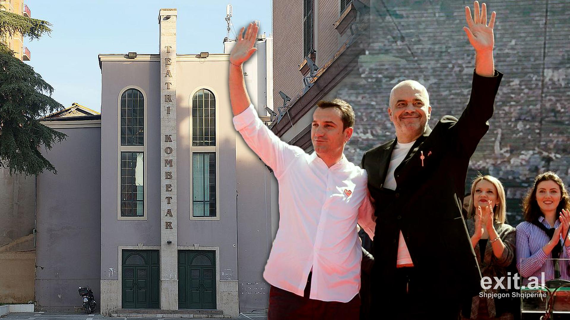 Këshilli Bashkiak vendos në fshehtësi shembjen e Teatrit Kombëtar