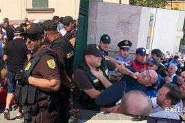 Protesta për Teatrin, qeveria përdori kundër qytetarëve edhe policinë private