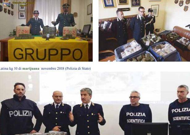 Antidroga italiane: Shqipëria, furnizuesja kryesore e Italisë me marijuanë – Pikat kryesore të raportit