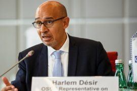 Harlem Desir, Ukraina nuk duhet të miratojë ligjin e ri të medias