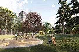 Vazhdon betonizimi: nis ndërtimi i një këndi lojërash në Parkun Rinia