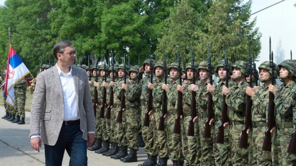 Vuçiçi mirënjohës ndaj Putinit për ndihmën ushtarake