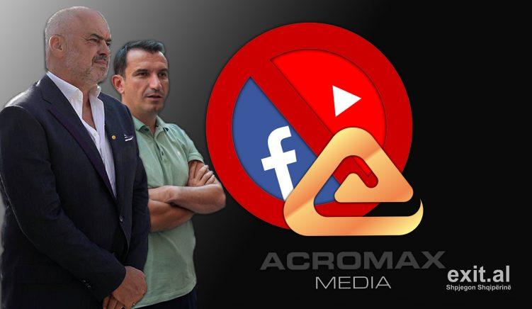 Acromax fsheh kontratën me Partinë Socialiste
