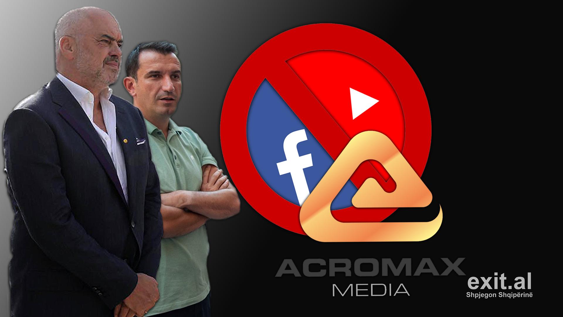 Acromax Media – inkuizicioni kundër 'heretikëve' që kritikojnë dyshen Rama-Veliaj në rrjetet sociale