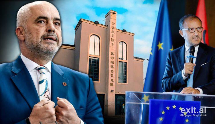 Rama: Komisioni Evropian rishikoi dhe autorizoi ligjin special dhe tenderin për prishjen e Teatrit