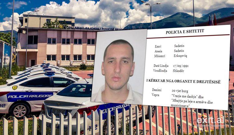 Policia arreston vrasësin prej 5 vitesh në kërkim, endej me pistoletë në Tiranë