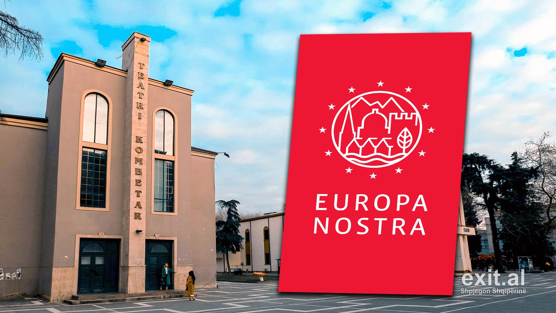 Europa Nostra dënon dhe ngren alarmin për prishjen e Teatrit Kombëtar