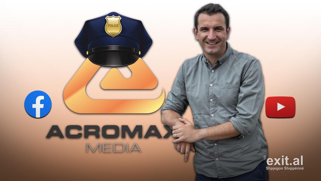 Acromax Media: disa raste të sjelljes si polici politike në duart e Erion Veliajt