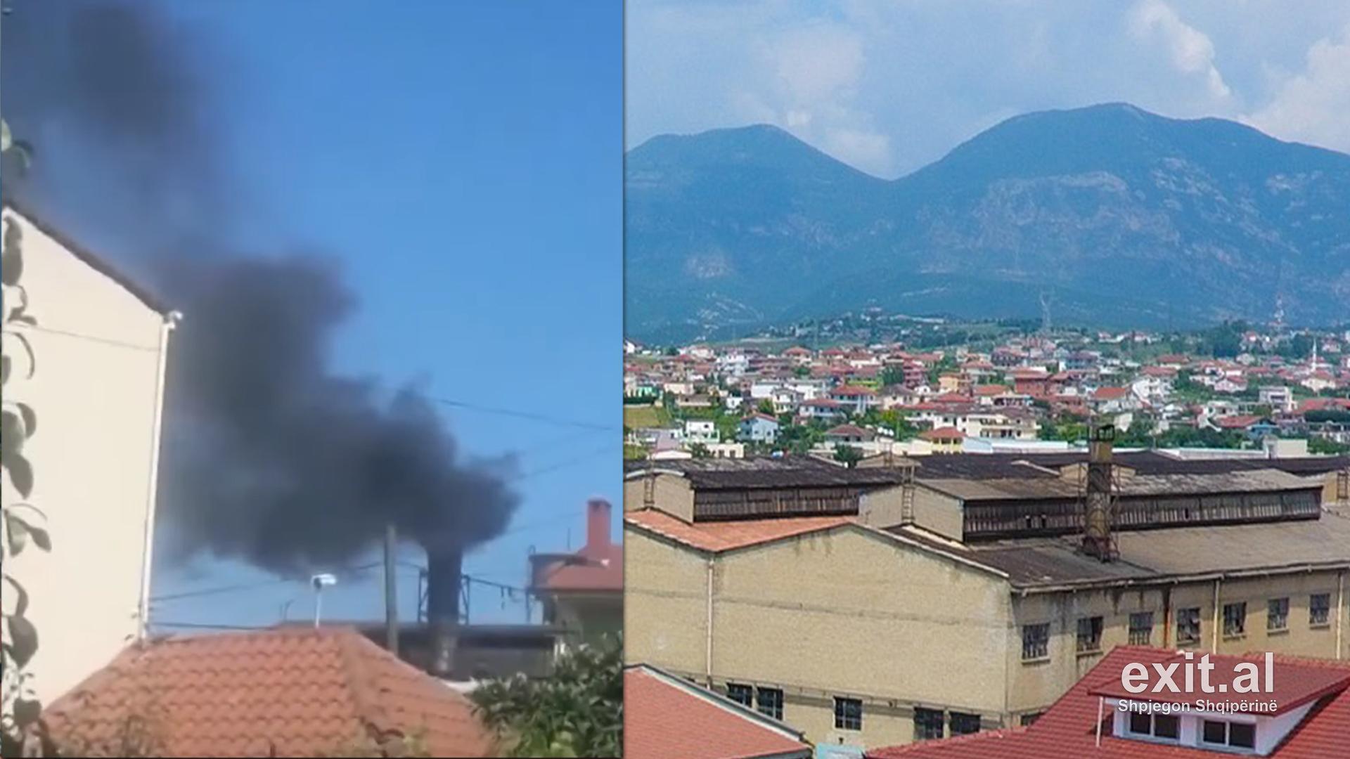 Fabrika e tullave në Laprakë ndot rëndë mjedisin, protestojnë banorët