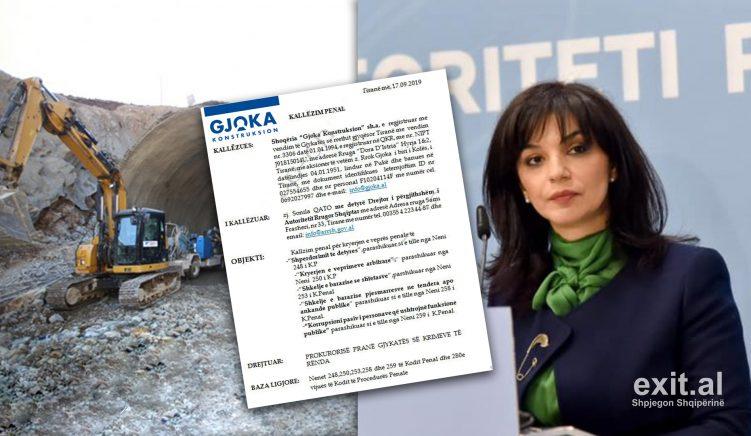 KLSH kallëzim penal ish-drejtoreshës së ARRSH-së Sonila Qato