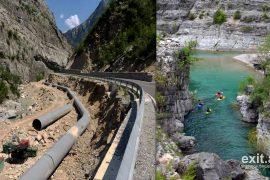 Mali i Zi i kërkon shpjegime qeverisë shqiptare për hidrocentralet në lumin e Cemit
