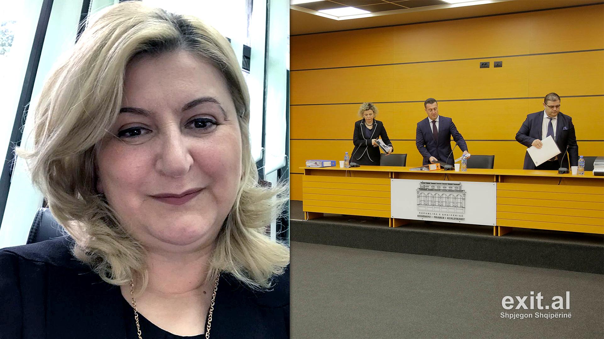 Dorëhiqet gjyqtarja e Tiranës, Regleta Panajoti