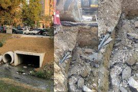 Punimet në Rrugën e Elbasanit lënë pa energji banorët