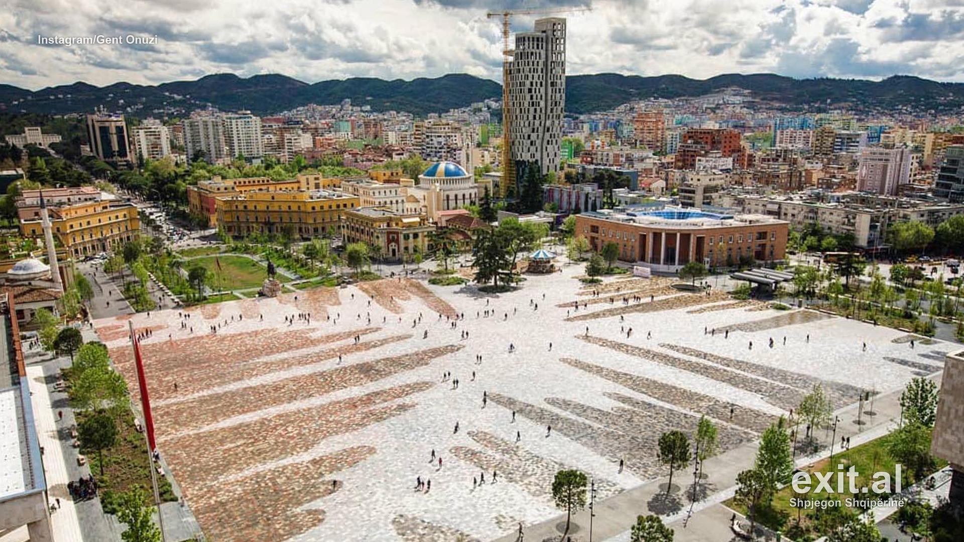 Tirana si kufomë urbane dhe varrezë betoni