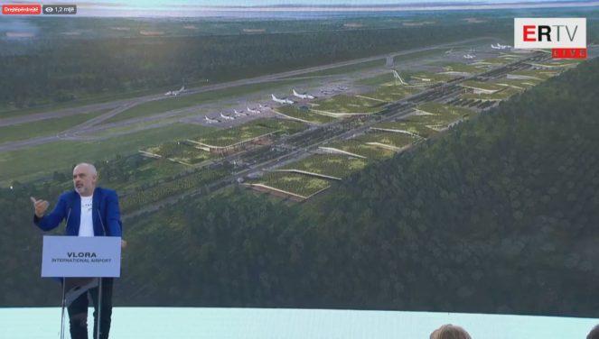 Propaganda e Kryeministrit Rama me aeroportin e Vlorës