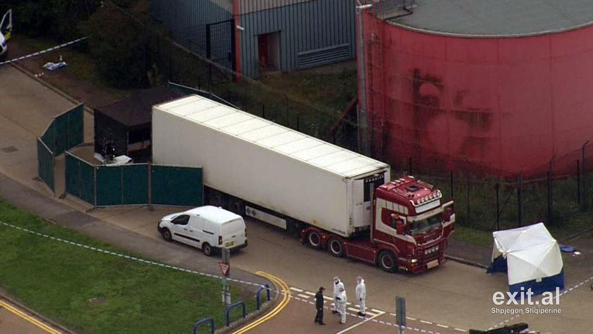 Britani: 39 të vdekur brenda një kamioni, vinte nga Bullgaria