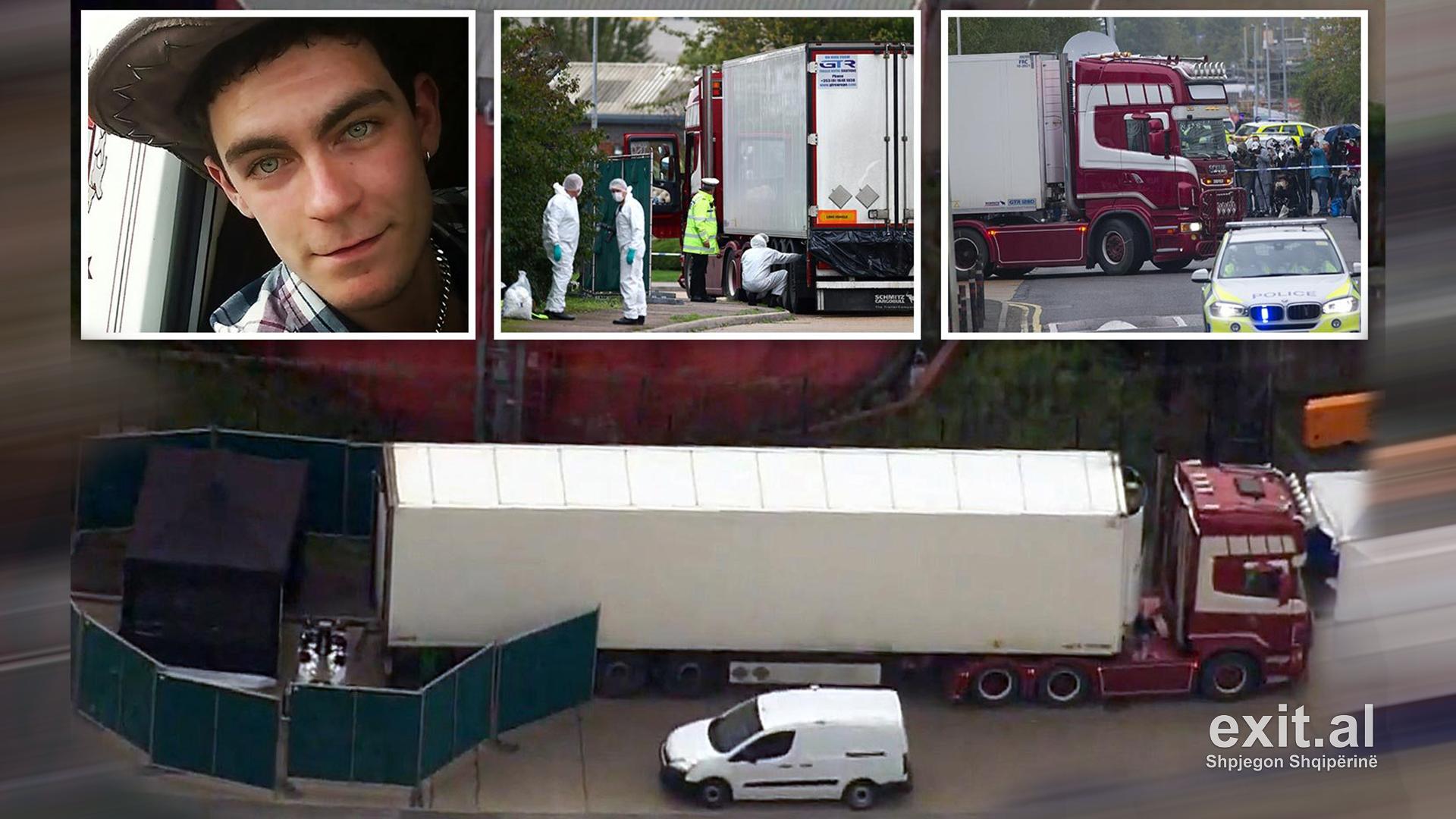 Angli, 39 të vdekurit në kamion, përgjegjësi e mafies kineze të trafikut të njerëzve