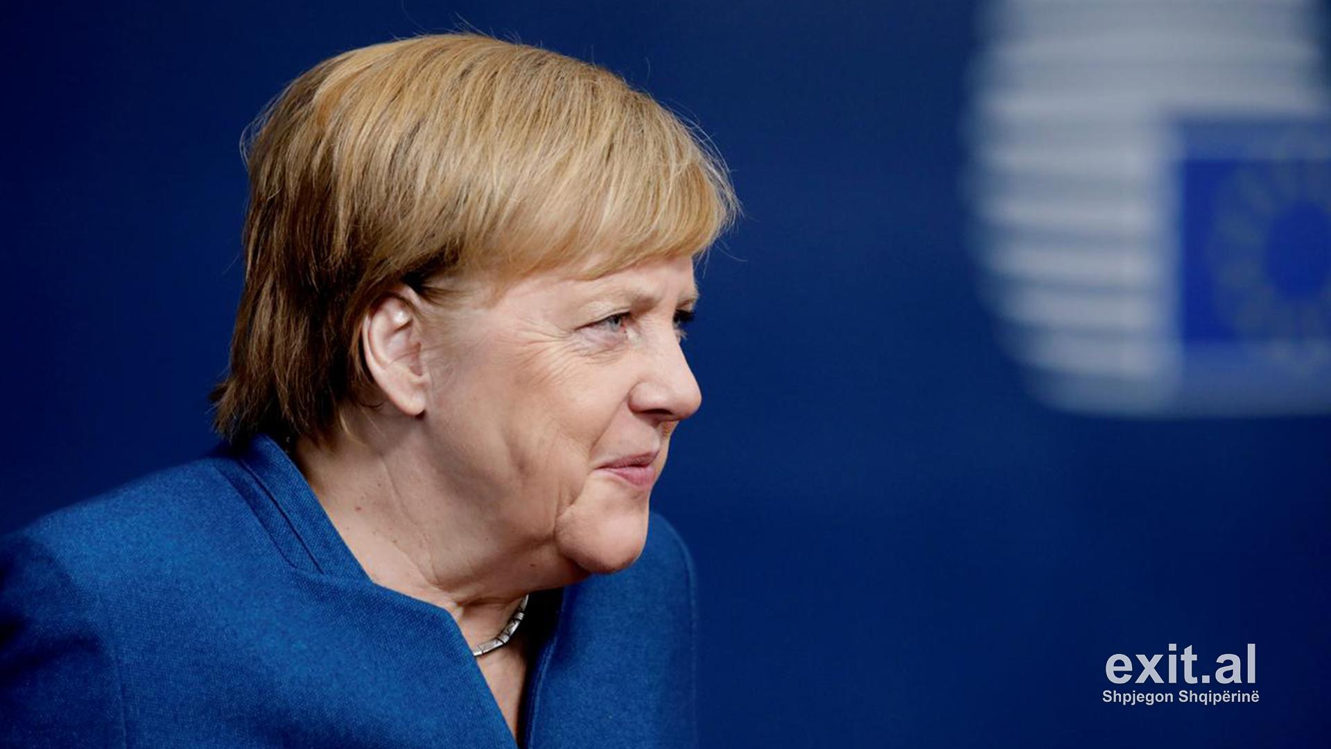 Merkel në karantinë për koronavirus