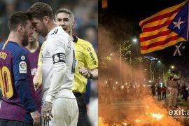 Nga Camp Nou në Bernabeu, protestat në Barcelonë mund të zhvendosin klasiken me Realin