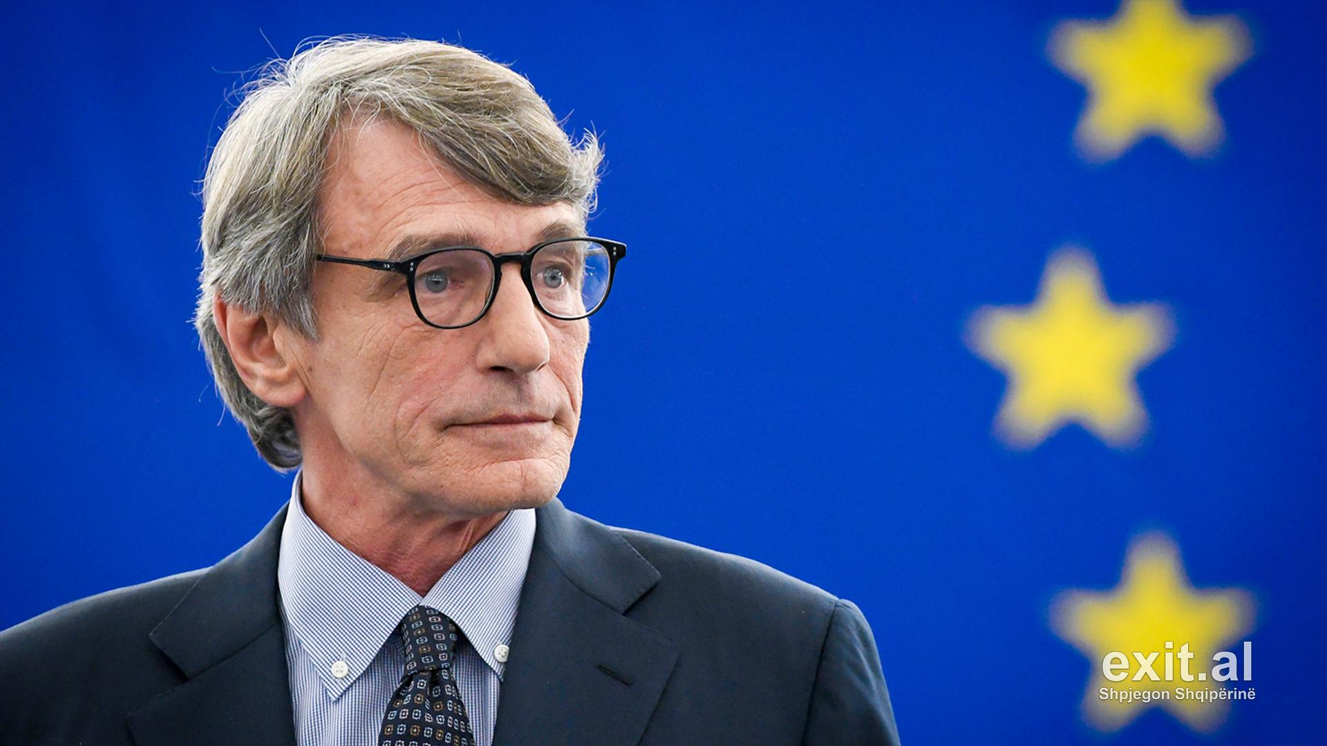 Presidenti i PE, David Sassoli viziton Shqipërinë më 2-3 dhjetor