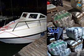 Policia italiane kap 450 kilogramë marijuanë, vinte nga Shqipëria