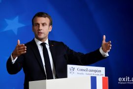 Video: Macron, shumica e BE pro Maqedonisë së Veriut, një pjesë e mirë kundër Shqipërisë