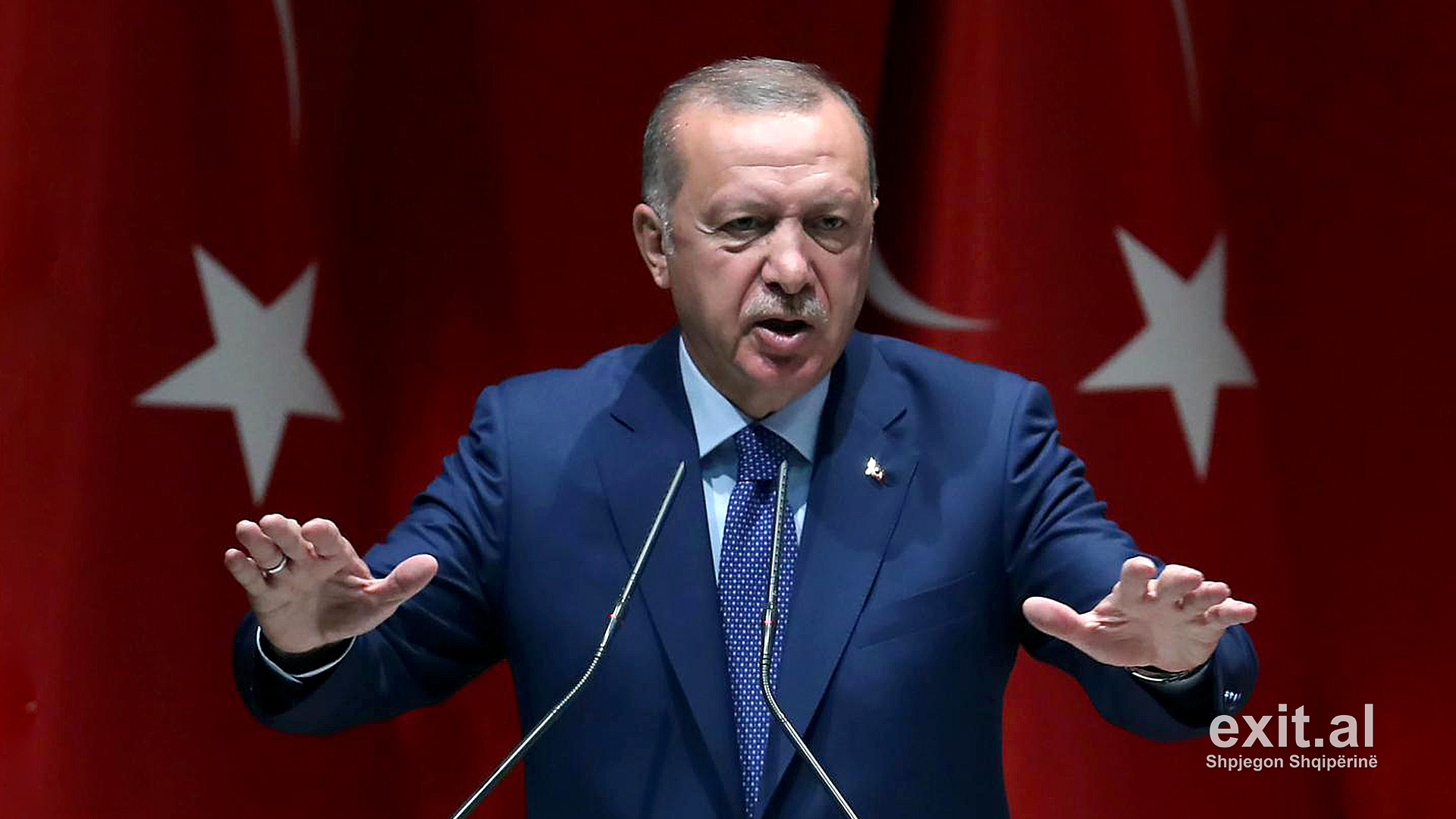 Erdogan kërcënon Evropën me hapjen e dyerve për 3,6 milionë refugjatë sirianë