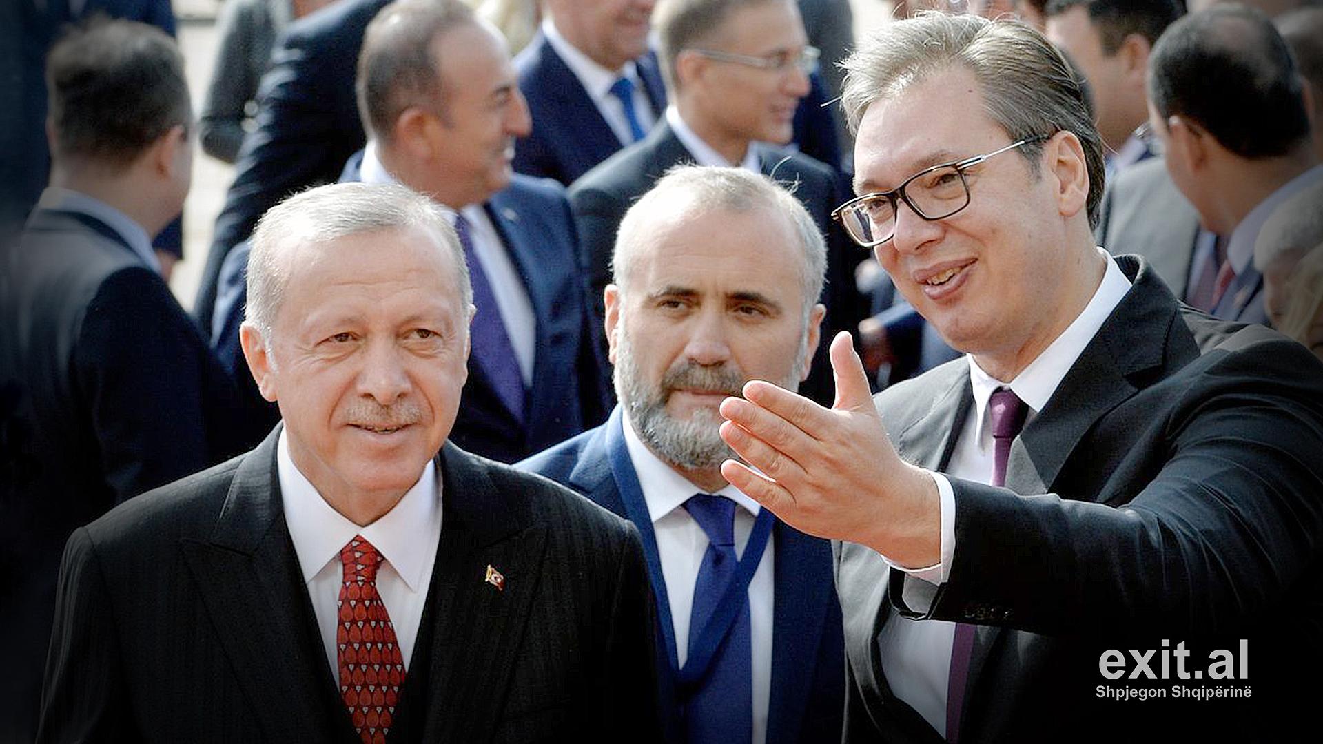 Erdogan premton 3 miliardë euro për ndërtimin e një ure në Serbi