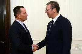 Vuçiç takon Richard Grenell: Askush nuk na ka ofruar gjë për bisedimet me Kosovën