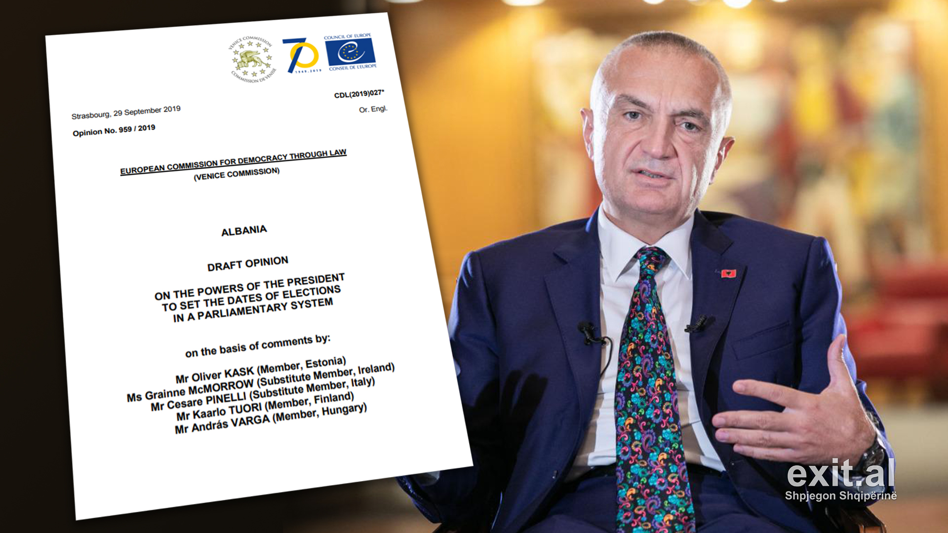 Komisioni i Venecias: Presidenti tejkaloi kompetencat, nuk justifikojnë shkarkimin e tij