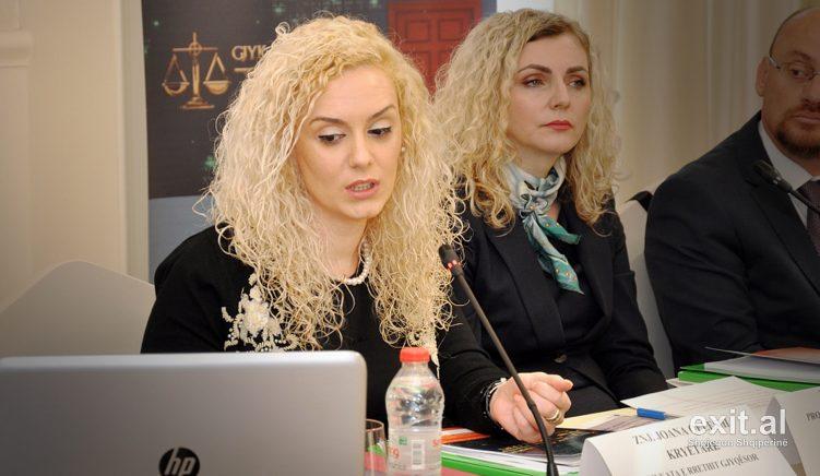 Dorëhiqet kryetarja e Gjykatës së Durrësit Joana Qeleshi