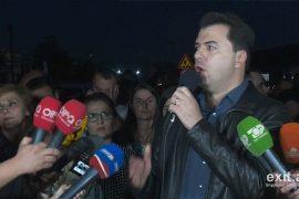 Basha i bashkohet protestës së banorëve te Unaza e Re: Luftoni për fëmijët tuaj