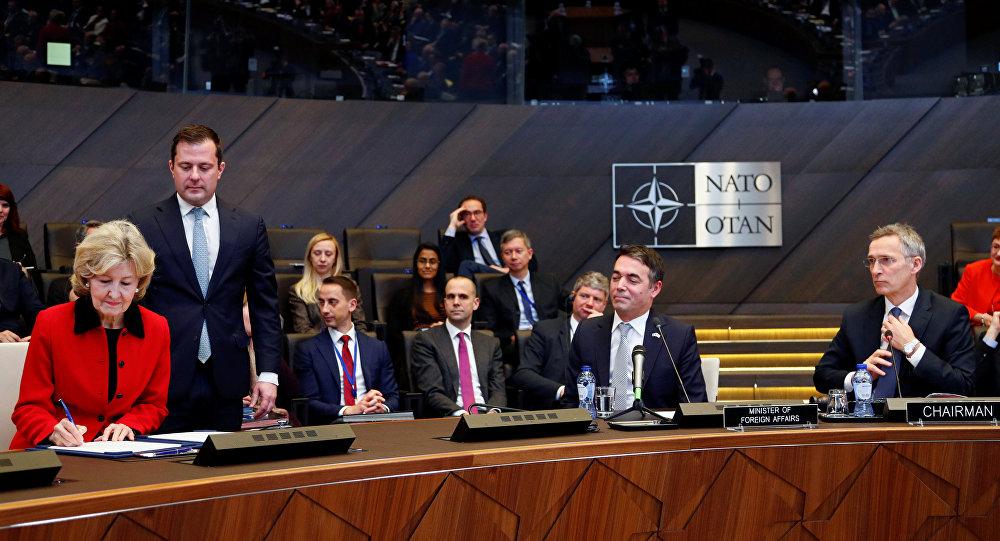 SHBA miraton prokolllin e anëtarësimit të Maqedonisë së Veriut në NATO