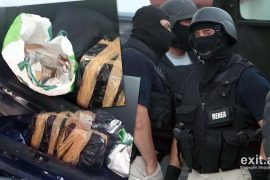 Policia kap 55 kilogramë kanabis dhe arreston 4 persona në Fier dhe Vlorë