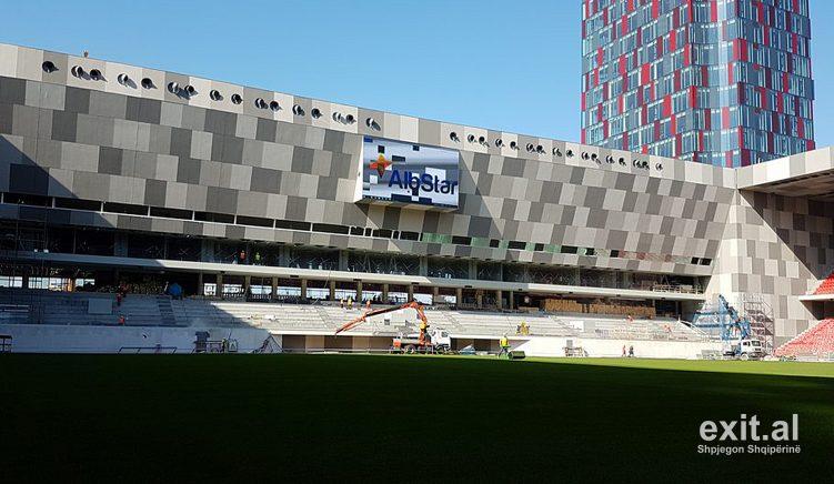 Përçudnimi i Stadiumit Kombëtar, hotel me qendër tregtare dhe fushë futbolli